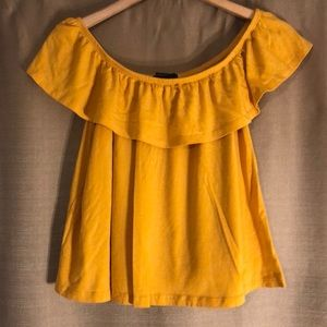 *2 FOR $12* FOREVER 21 SIZE LARGE GOLDEN CROP TOP